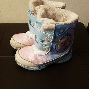 Frozen boots- used. Priced to sell.